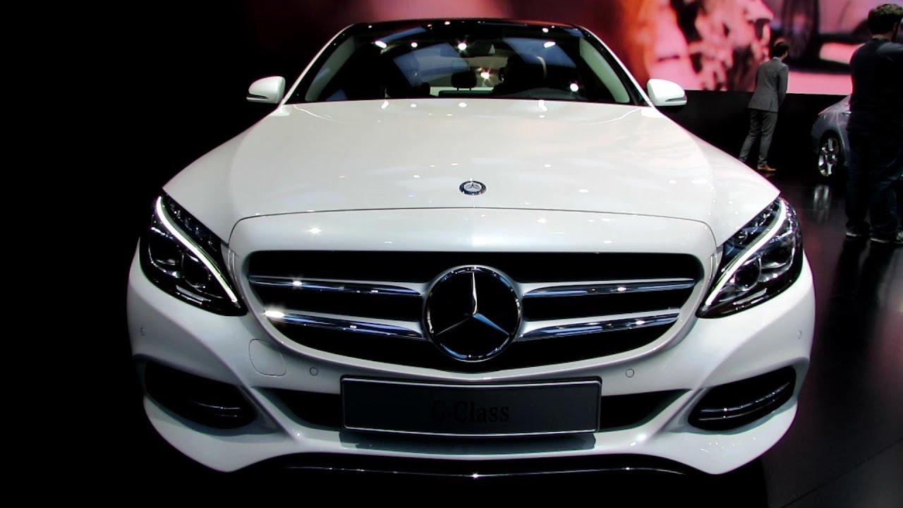 2015 Mercedes Benz C Class C250 Bluetec Exterior And Interior Walkaround 2014 Detroit Auto