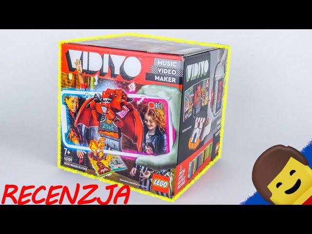 LEGO VIDIYO 43109 Metal Dragon BeatBox / Recenzja