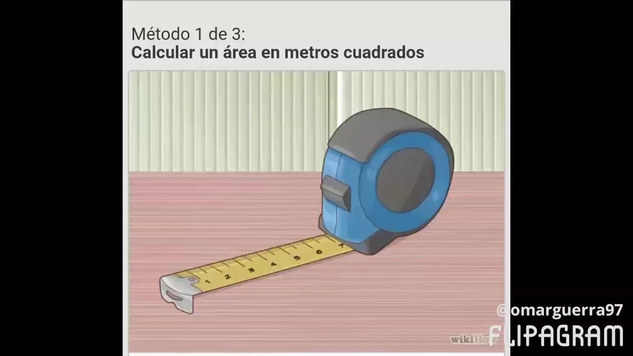 como calcular metros cuadrados a mano aprender hacer