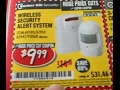 UNBOXING Harbor Freight Bunker Hill Wireless SECURITY ALERT System