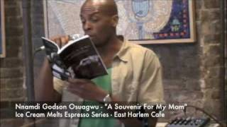 "Ice Cream Melts Espresso Series Nnamdi Godson Osuagwu author of  ""A Souvenir For My Mom"" Thumbnail"