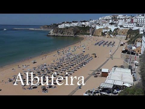 ALGARVE: Albufeira Town & Beach (Portugal)