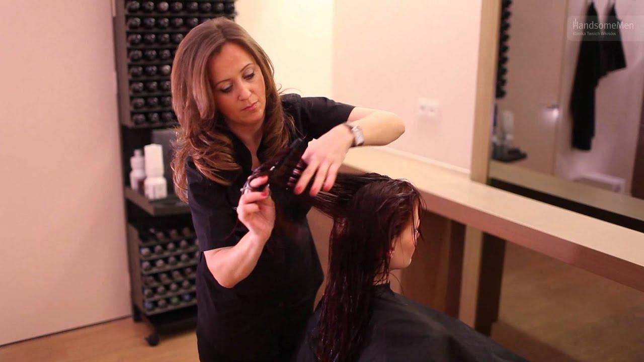 Cieniowanie Rudych Włosów Wydobycie Koloru I Nowego Kształtu Fryzury