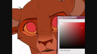 Lion Cub Speed draw