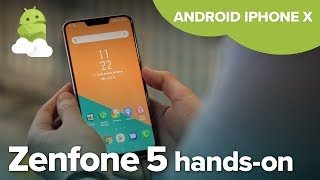 ASUS Zenfone 5 / 5Z hands-on: Android iPhone X clone