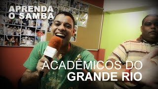 Aprenda O Samba da Grande Rio para o Carnaval 2016