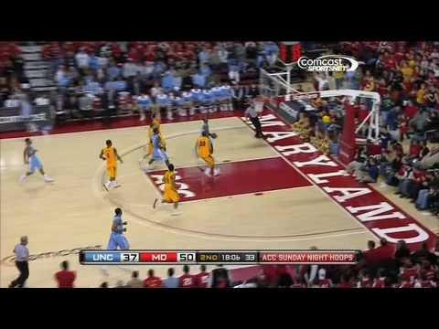 Jordan Williams - MD/UNC Game