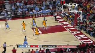 Jordan Williams - MD/UNC Game