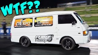 450 Horsepower Turbo Van - Caught Us Off Guard!