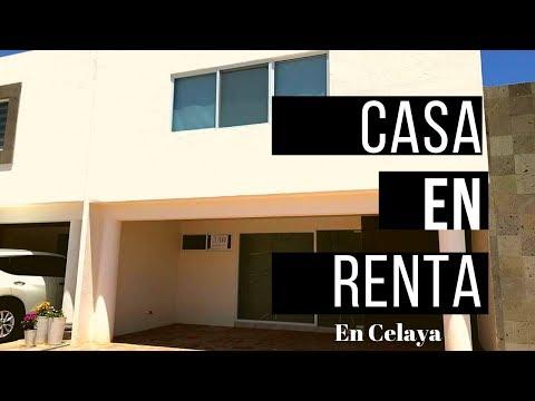 Casa En Renta En Celaya, Guanajuato.