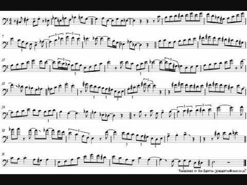 Ian McDougall 'I Remember You' Trombone Solo Transcription