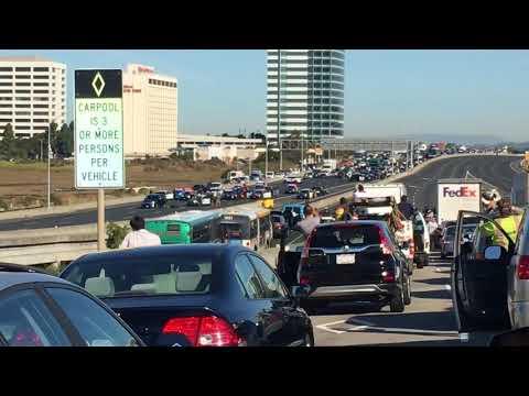 Shots fired in standoff, westbound Interstate 80 in Emeryville, CA (near Powell Street exit).