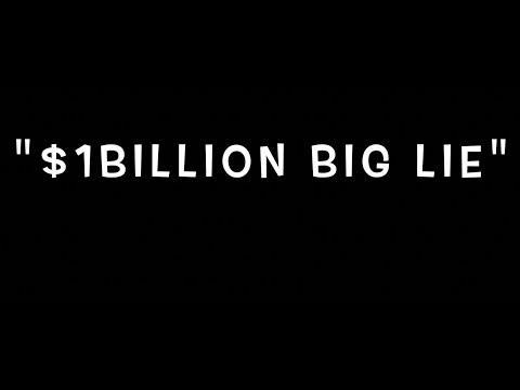 Politicians' republic:  $1 billion plus based on a big lie