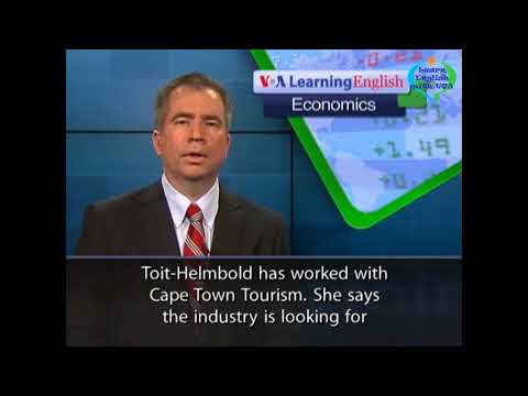 Learn English with VOA Special English - Chinese Interest in South Africa Grows