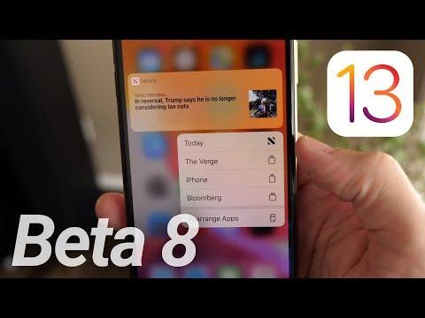 iOS 13 Beta 8/Public Beta 7 Released! What's New?