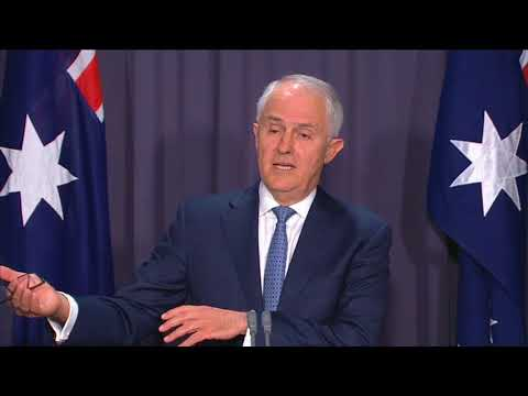 Turnbull's Citizenship Plan - Press Conference (Nov 6, 2017)