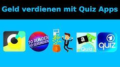 4 Quiz Apps mit denen du echtes Geld verdienen kannst 💡💰