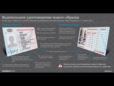 Попутчик   Новые категории водительских удостоверений