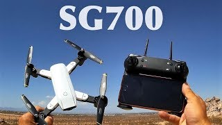 SG700 Quadcopter plegable RC Drone con 0.3MP cámara Wifi