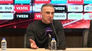 Trabzonspor'a 6-0 yenilen takımın hocası olan Tayfur Havutçu'dan maç sonu açıklamalar