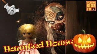 뒤돌아보지마! 유령의 집으로 들어간 소녀. 무서운 이야기. 유령의 집 비밀 secret haunted house l ghost story