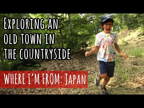Exploring an Old Town in the Japanese Countryside (Inaka)