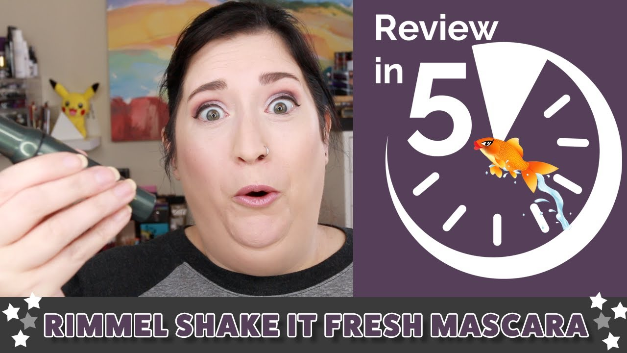 033a27d8e16 Rimmel Shake It Fresh Mascara | REVIEW IN 5 - YouTube