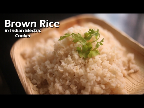 brown-rice-in-indian-rice-cooker-||-how-to-?-||-day-5-||-harshika-gudi