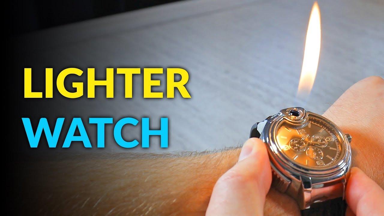 to wear - Wrist stylish watch lighter video