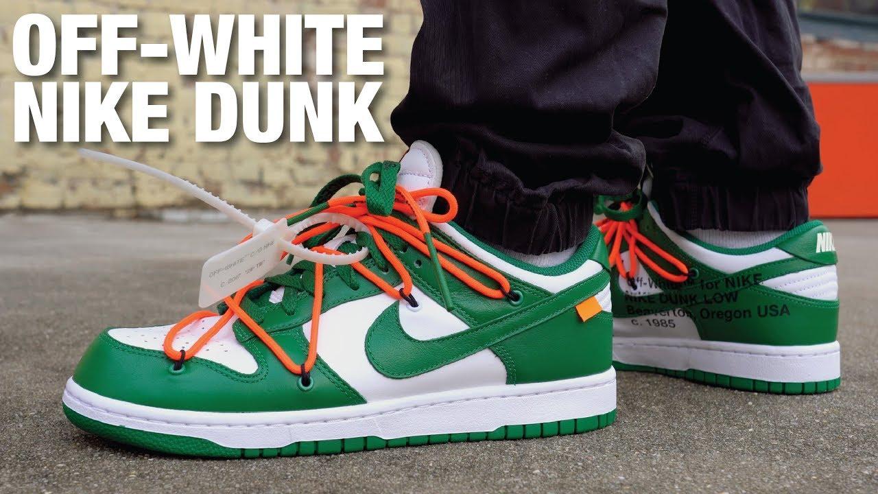 sb dunk off white