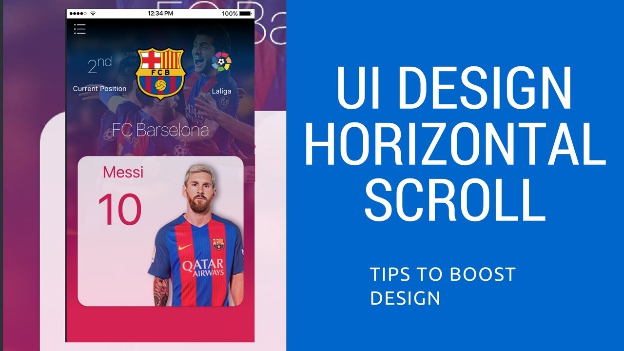 Horizontal Scroll in IONIC 3-#its easy