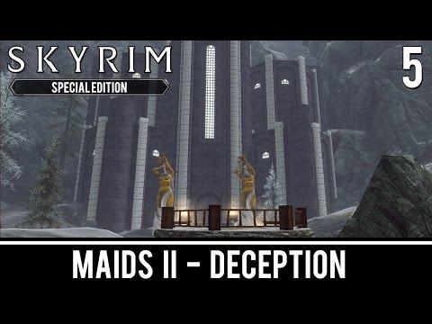 Skyrim Mods: Maids II: Deception - Part 5 - YouTube