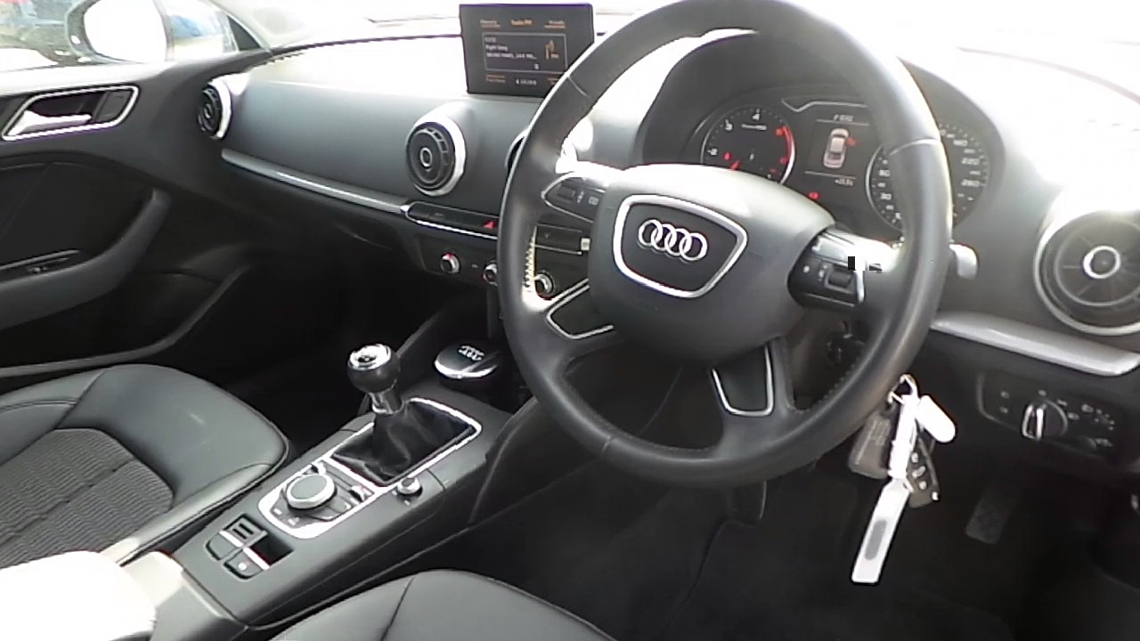 141lh127 2014 audi a3 sal 1 6 tdi 105 se audi north dublin 21 995 youtube. Black Bedroom Furniture Sets. Home Design Ideas