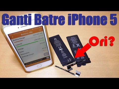 Dimana Dijual & Cara Mengganti Baterai iPhone 5 Ori?