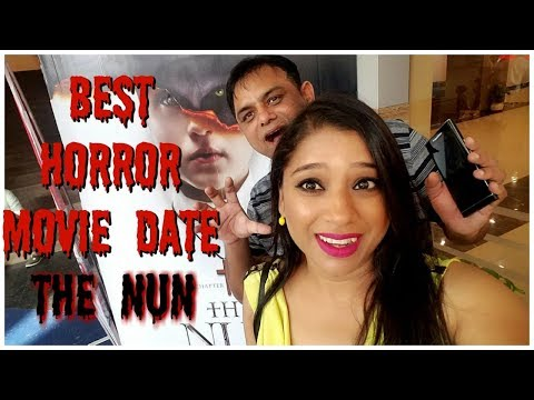 Vlog : Best Horror Movie Date | Movie Review The Nun | Indian Mom Studio