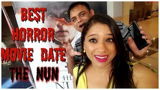 Vlog : Best Horror Movie Date | Watched Movie The Nun | Indian Mom Studio