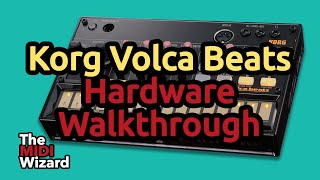 How to Make a Beat on the Korg Volca Beats - Walkthrough