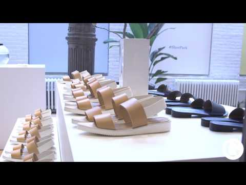 Inside Everlane's pop-up Soho shoe 'park' l Glossy