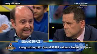 MÁXIMA TENSIÓN RONCERO - JUANMA por LAS PALABAS de RAMOS