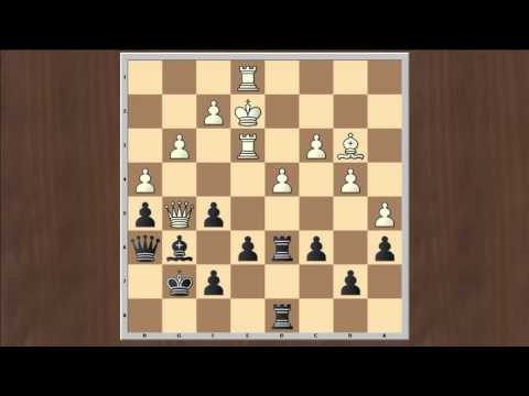 Nils Grandelius (2649) vs Chao Li (2755) Round 7 Norway Chess 2016