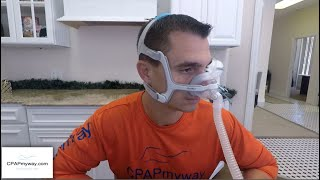 AirTouch N20 Nasal CPAP Mask from ResMed - Setup and Review