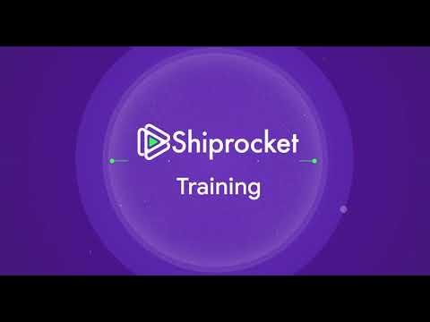Download Shiprocket Seller's Training | Shiprocket Training Recording | Seller Training