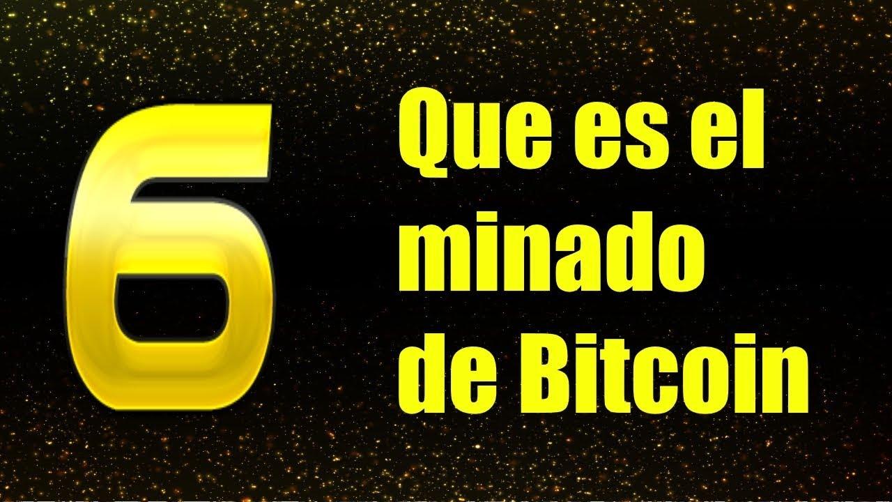 que es minado bitcoin