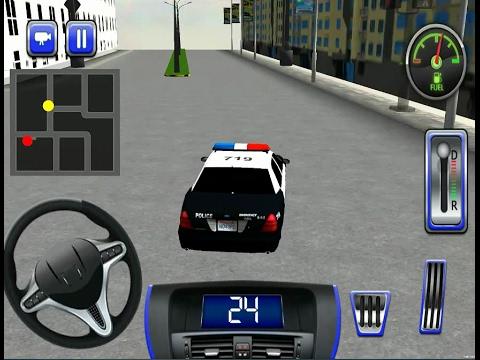 Police Car Simulator 3d Smash Robbers Ios Gameplay Youtube