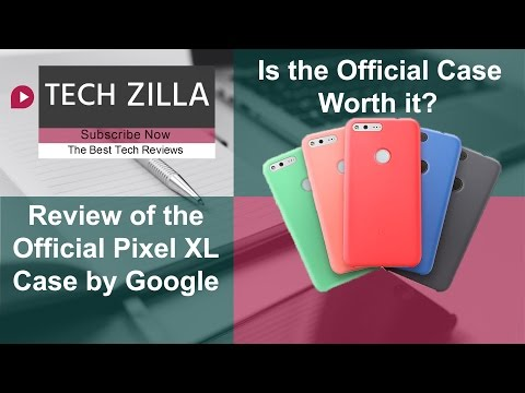 sale retailer 42649 e01d3 Review of the Official Pixel XL Case by Google - YouTube