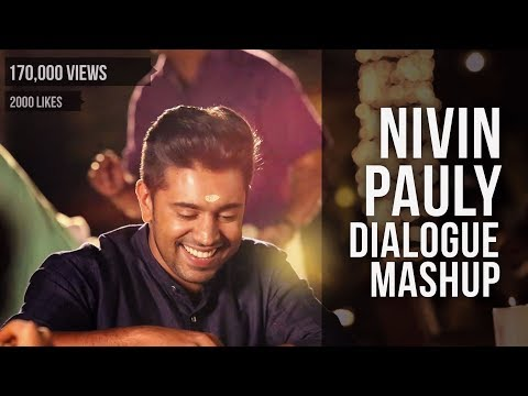Nivin Pauly Mashup -Dedication to Nivin Pauly,The New Generation Hero