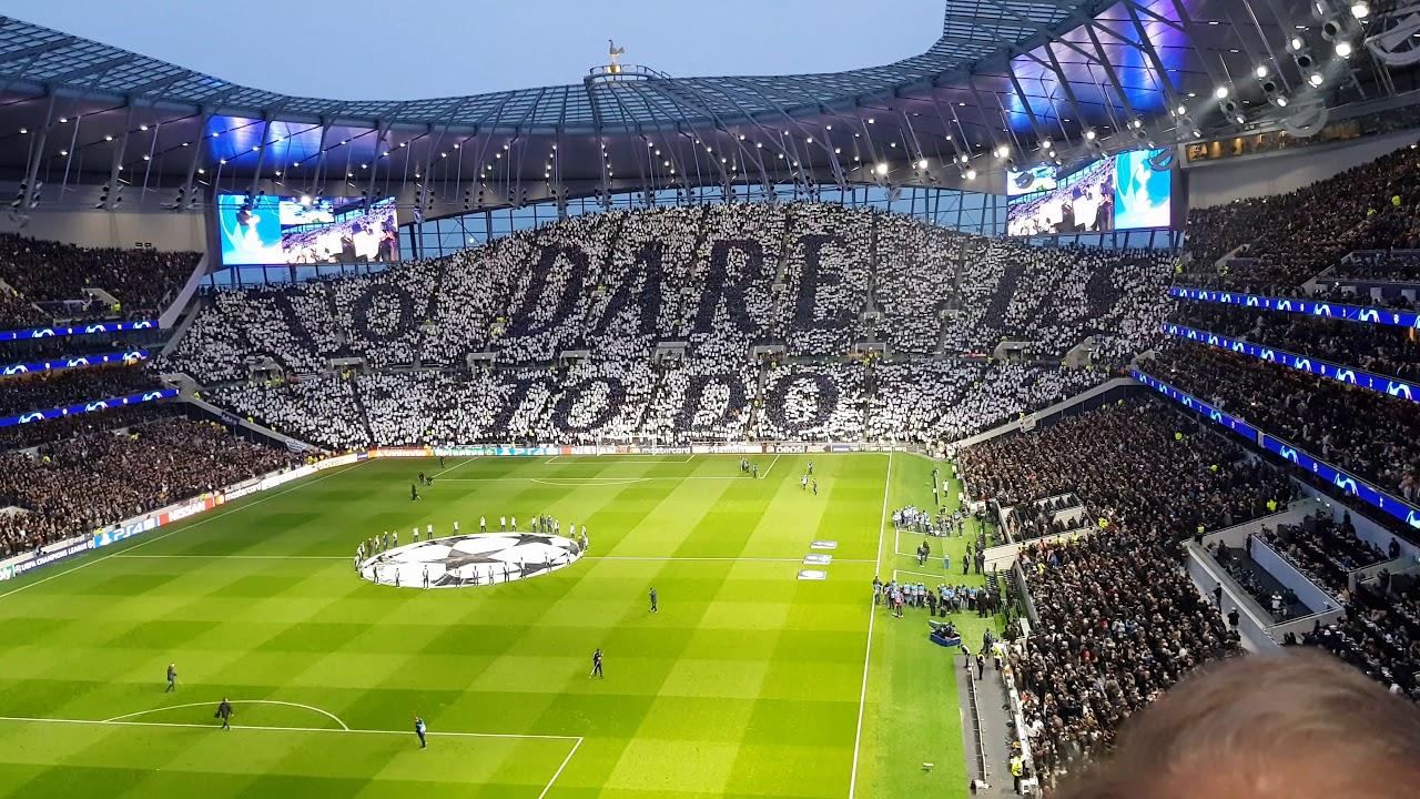 Tottenham Hotspur Stadium When The Spurs Go Marching On 4k Youtube
