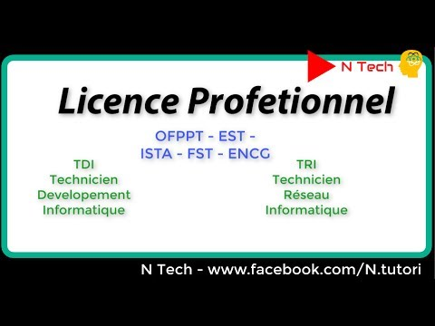 Licence Professionnelle -LPE / TDI developpement / TRI resea