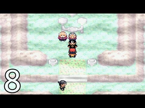 Pokemon Ruby Destiny Reign OF Legends - Part 8 - Cinnabar Island Control Orbs And Secret Hideouts