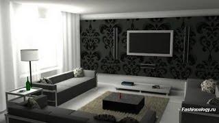 видео Дизайн коттеджа - интерьер гостиной, ванной, прихожей